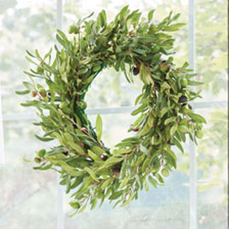 """20"""" Olive Wreath Product Tile Hover Image 442240"""