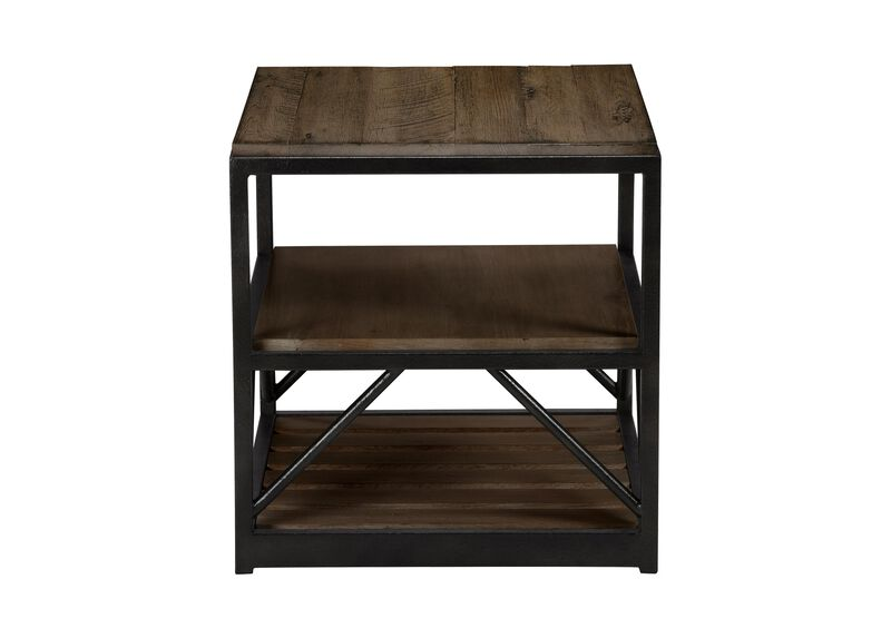 Beam End Table ,  , large_gray