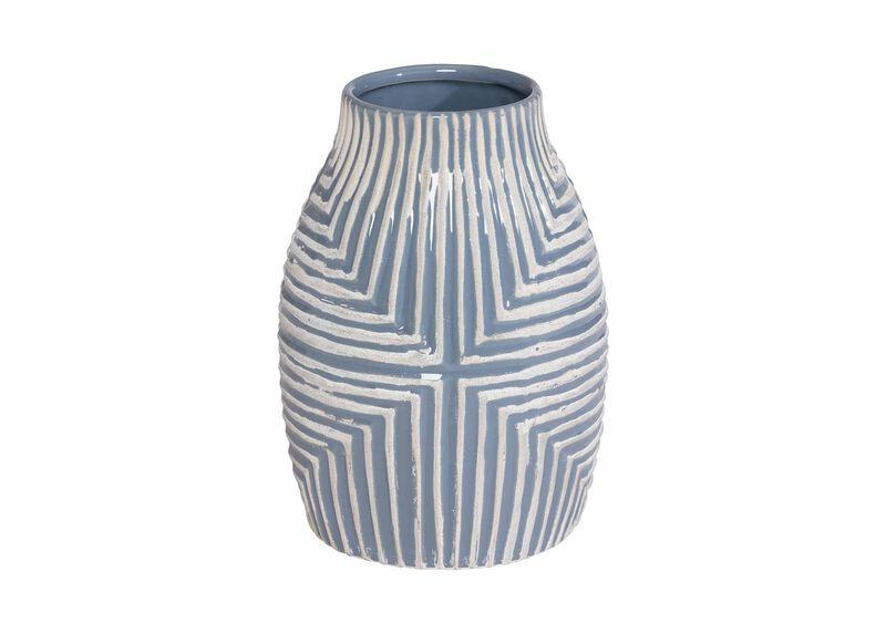 Aztec Blue Vase ,  , large_gray