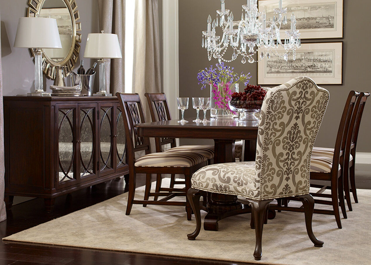 Edwin Dining Chair Arm Amp Host Chairs Ethan Allen