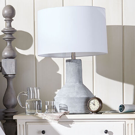 Cade Cement Table Lamp Product Tile Hover Image 096143