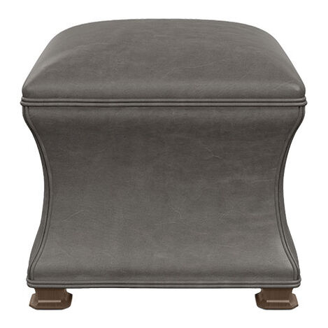 Corbin Leather Ottoman Product Tile Image 727395