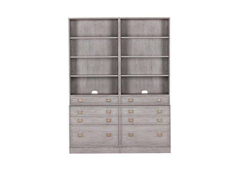 Callum Double File Bookcase
