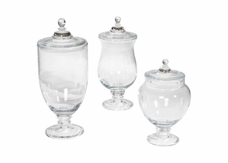 Darcy Glass Jars at Ethan Allen in Ormond Beach, FL | Tuggl
