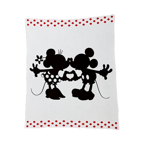 Mickey and Minnie Mouse Perfect Pair Knit Throw ,  , large