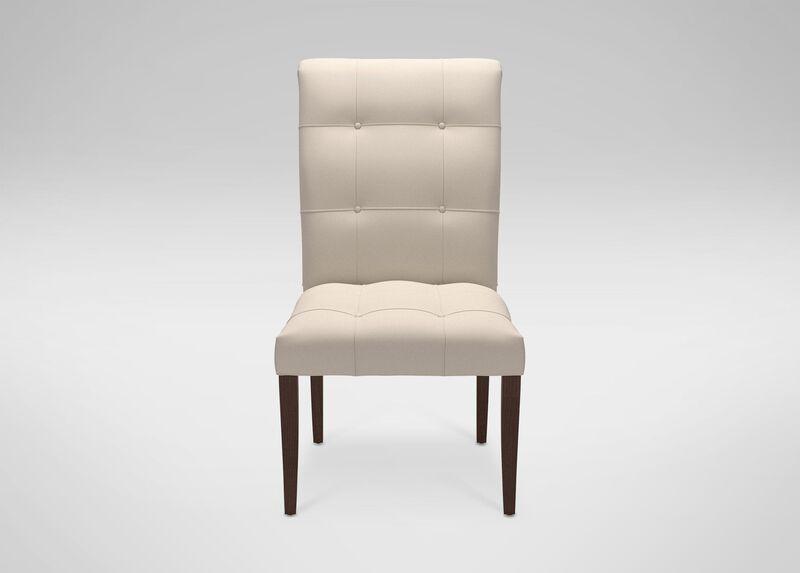 Verlaine Side Chair, Abel Linen at Ethan Allen in Ormond Beach, FL | Tuggl