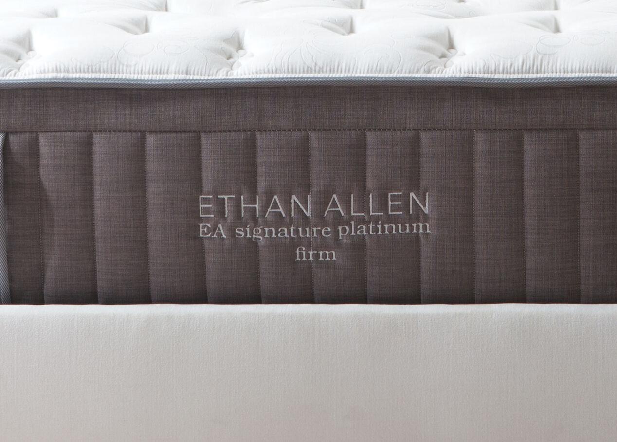 EA Signature Platinum Firm Mattress | Mattresses | Ethan Allen