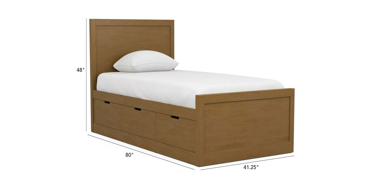 Carolwood Twin Storage Bed Beds Ethan Allen
