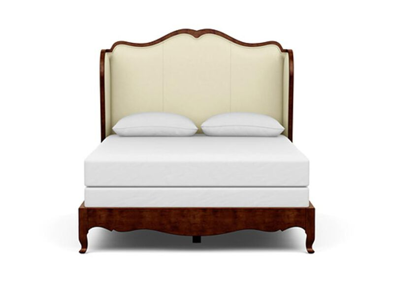 Beau Leather Bed ,  , large_gray