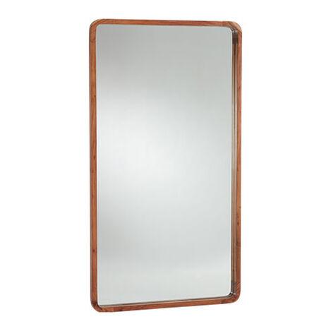 Hudson Wooden Floor Mirror Product Tile Image 074507