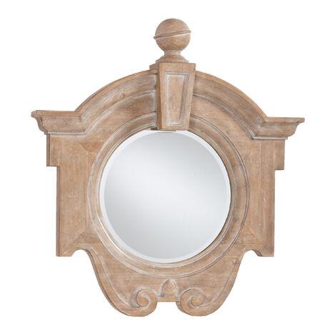 Aged Oak Gisele Mirror ,  , large