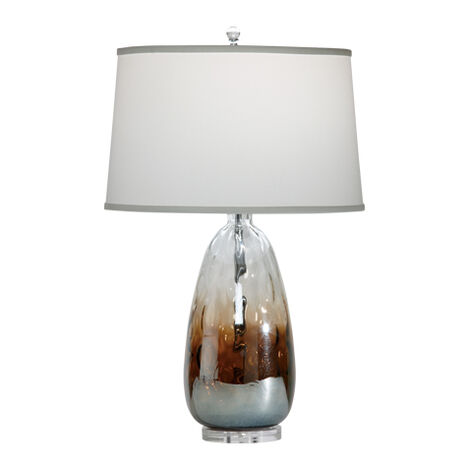Nickel kiera table lamp · null null