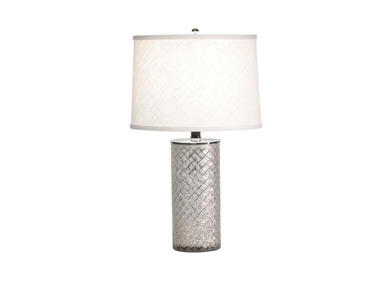 Lattice Glass Accent Lamp