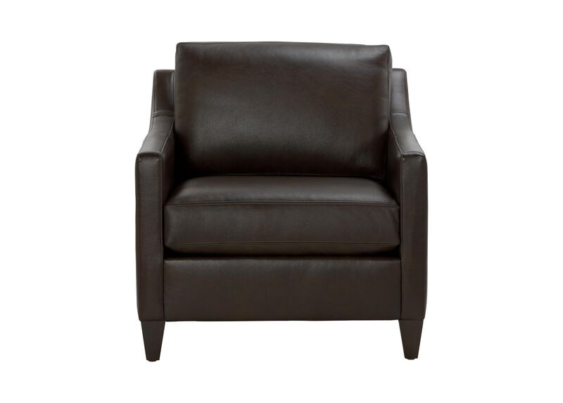Monterey Leather Chair ,  , large_gray