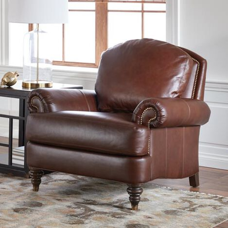 Hyde Leather Chair, Quick Ship Product Tile Hover Image 677071