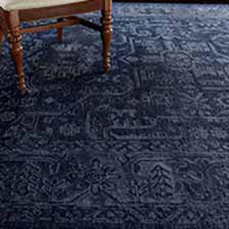 Heriz Deconstructed Rug, Navy Product Tile Hover Image 041523