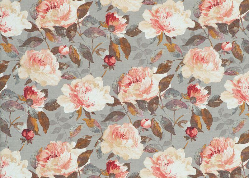 Audrina Charcoal Fabric