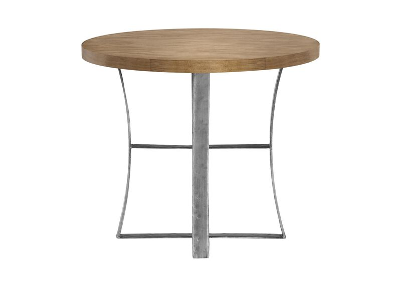 Roswell Round End Table ,  , large_gray