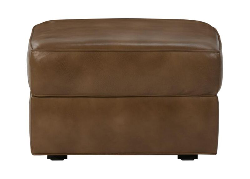 Retreat Leather Ottoman
