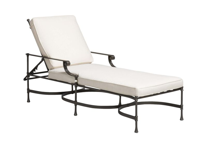 Biscayne Adjustable Chaise , Kean White (P8430) , large_gray