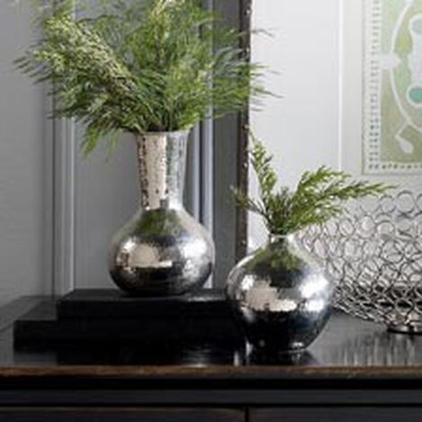 Hammered Nickel Vase ,  , hover_image