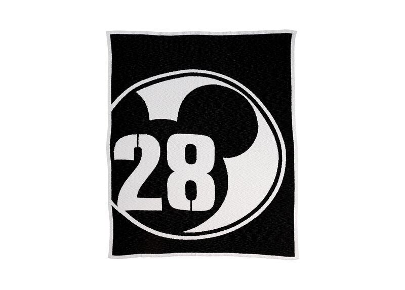 28 Varsity Knit Throw, Mickey's Ears