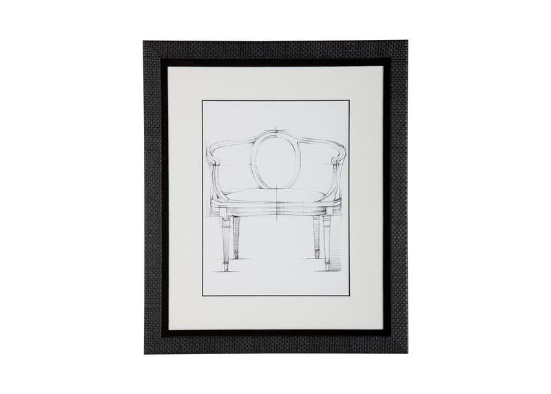 Historic Chair Sketch X
