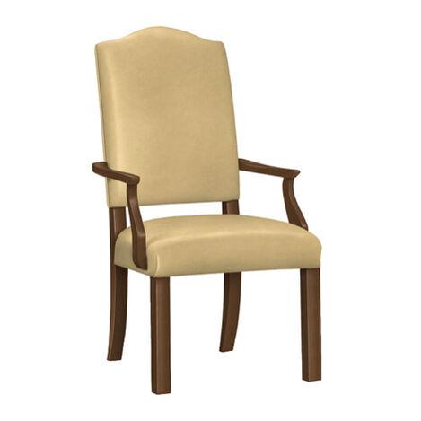 Hadley Parson-Leg Leather Armchair ,  , large