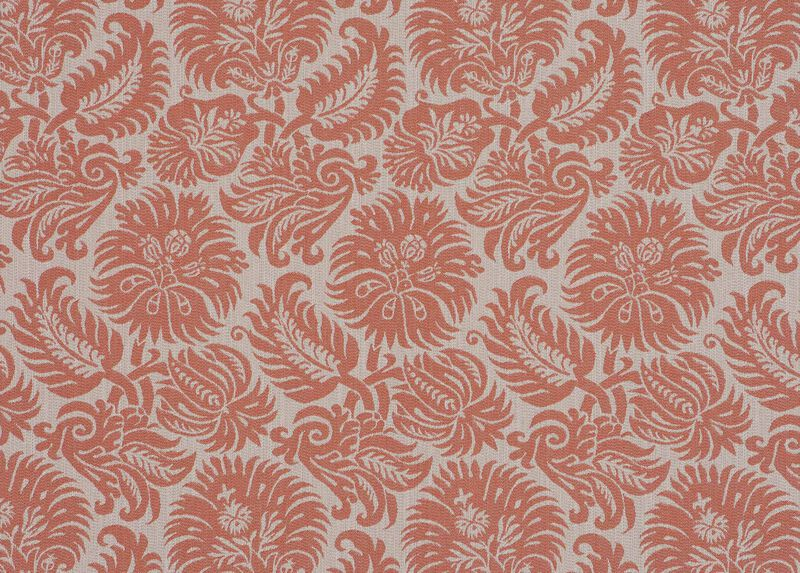 Lottie Coral Fabric by the Yard