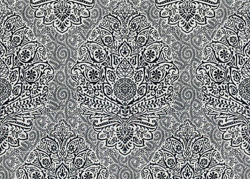 Yara Black Fabric by the Yard