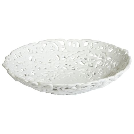 Braided White Centerpiece ,  , large