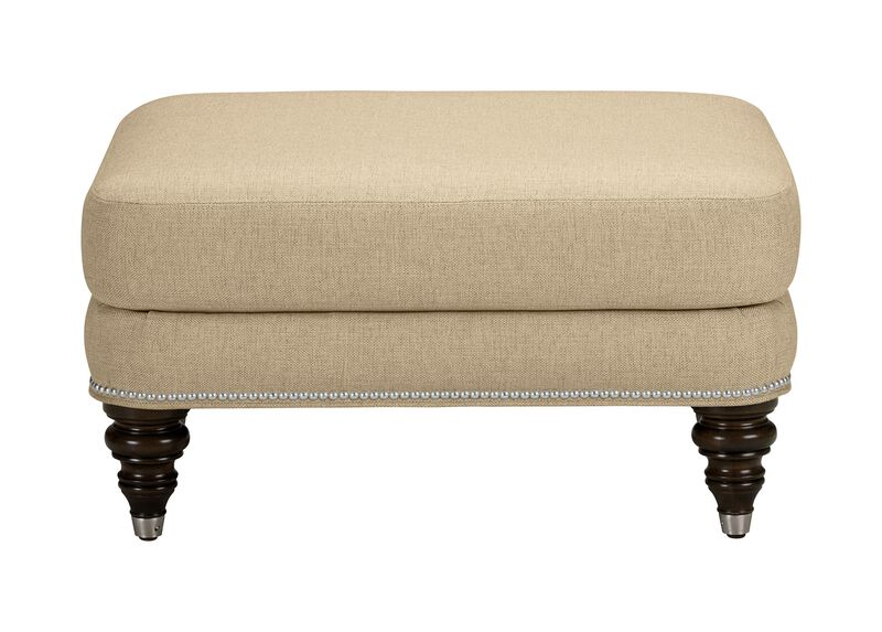 Hyde Ottoman, Quick Ship , Palmer Oyster (Q3033), chenille , large_gray