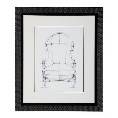 Historic Chair Sketch VII ,  , large
