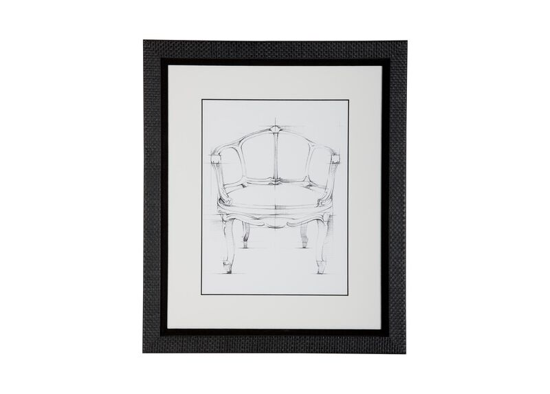 Historic Chair Sketch XI