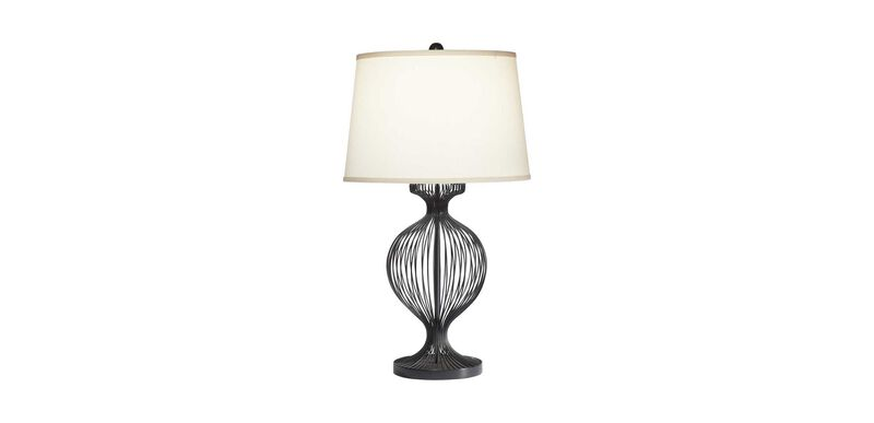 Kenzie Black Cage Table Lamp