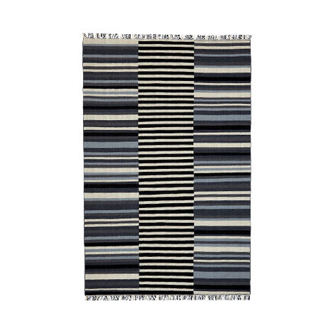Tricolor Striped Rug Product Tile Image 041005