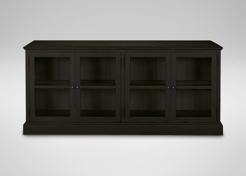 Sayville Four Glass Door Cabinet ,  , large_gray