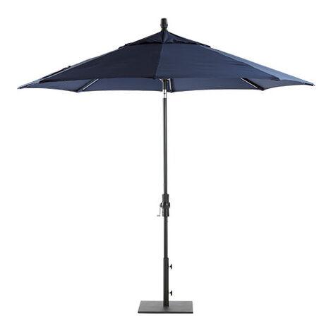 9' Single Vent Navy Umbrella ,  , large