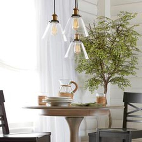 Kinsey Cone Three-Light Pendant ,  , hover_image
