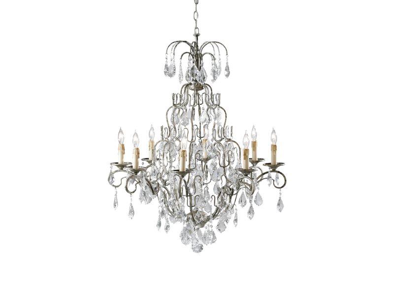 Eight Light Olympia Chandelier