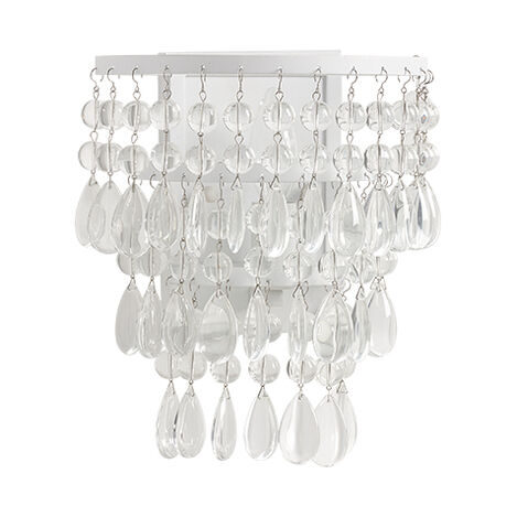 Boho Beaded Wall Sconce  ,  , large
