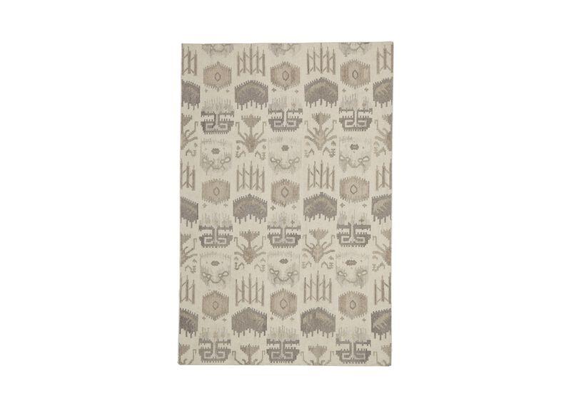 Tribal Mosaic Rug, Ivory/Multi ,  , large_gray