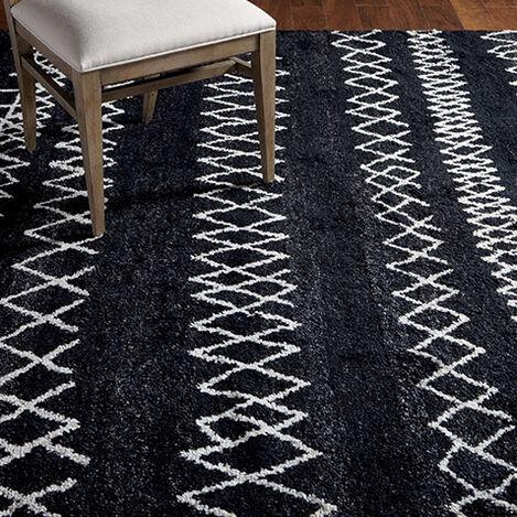 Intrinsik Rug, Black/Ivory Product Tile Hover Image 041557T