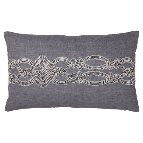Embellished Rectangular Pillow ,  , large