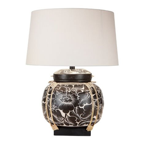 Fiona Bamboo Table Lamp ,  , large