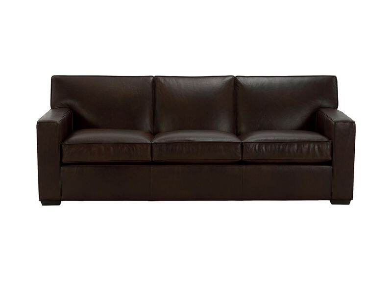Kendall Leather Sofa ,  , large_gray