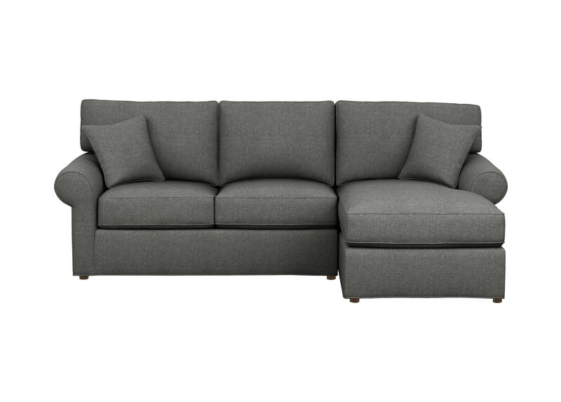 Retreat Roll-Arm Two-Piece Sectional