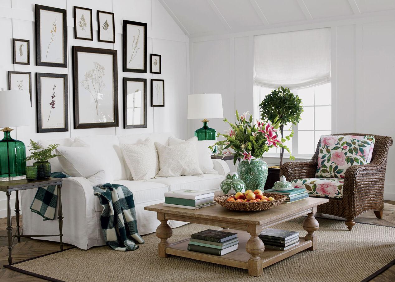Dylan Slipcovered Sofa | Sofas & Loveseats | Ethan Allen