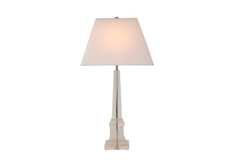 Leslie Crystal Table Lamp