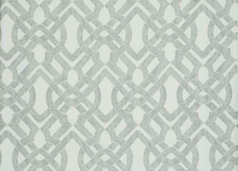 Curves Gray Fabric